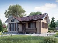Зимний дом у реки Таруса